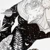 ORIGINAL ARTWORK: Botanical Rex