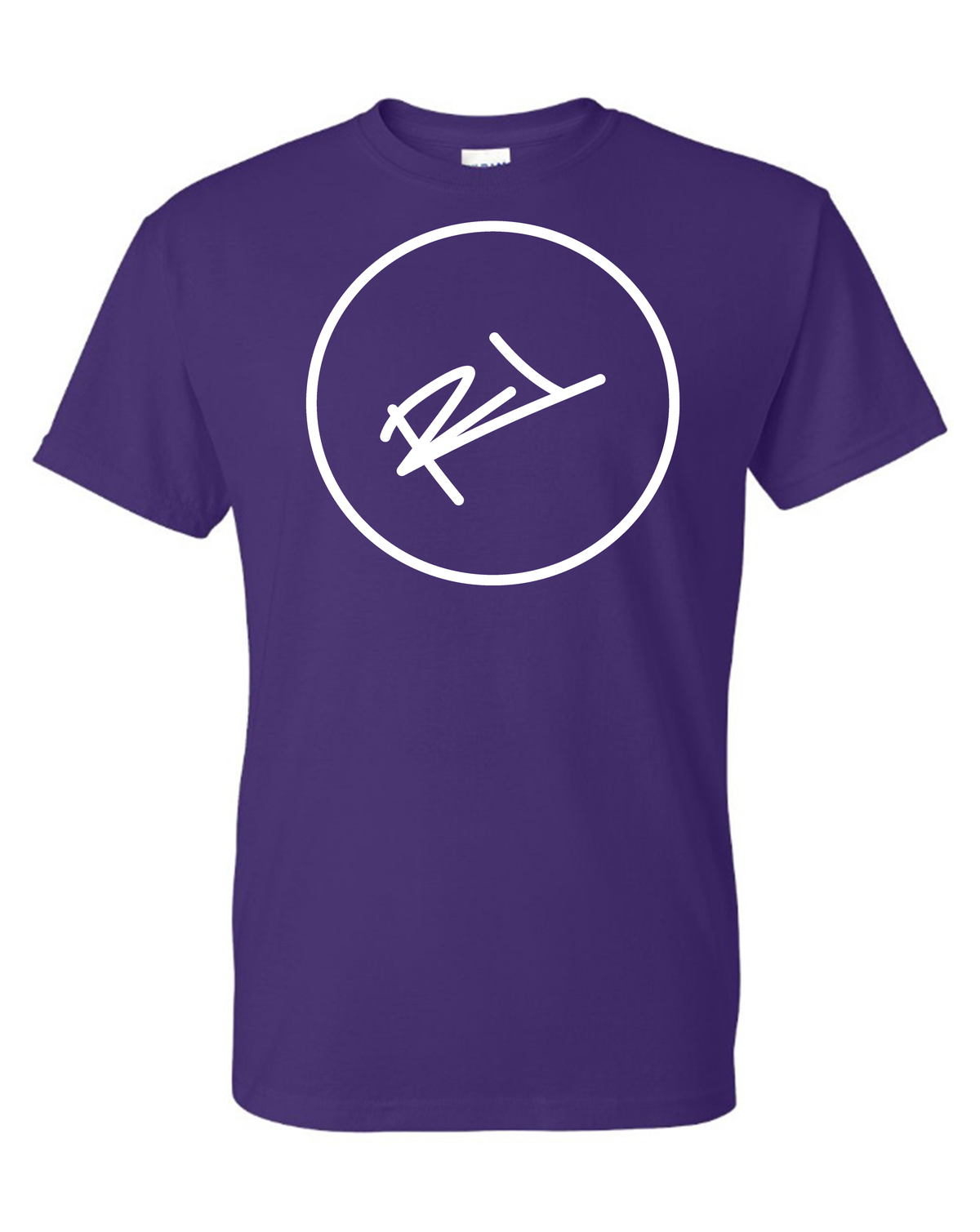 Image of THE ReL BRAND LOGO TEE IN PURPLE