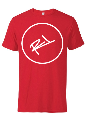 Image of THE ReL BRAND LOGO TEE IN RED