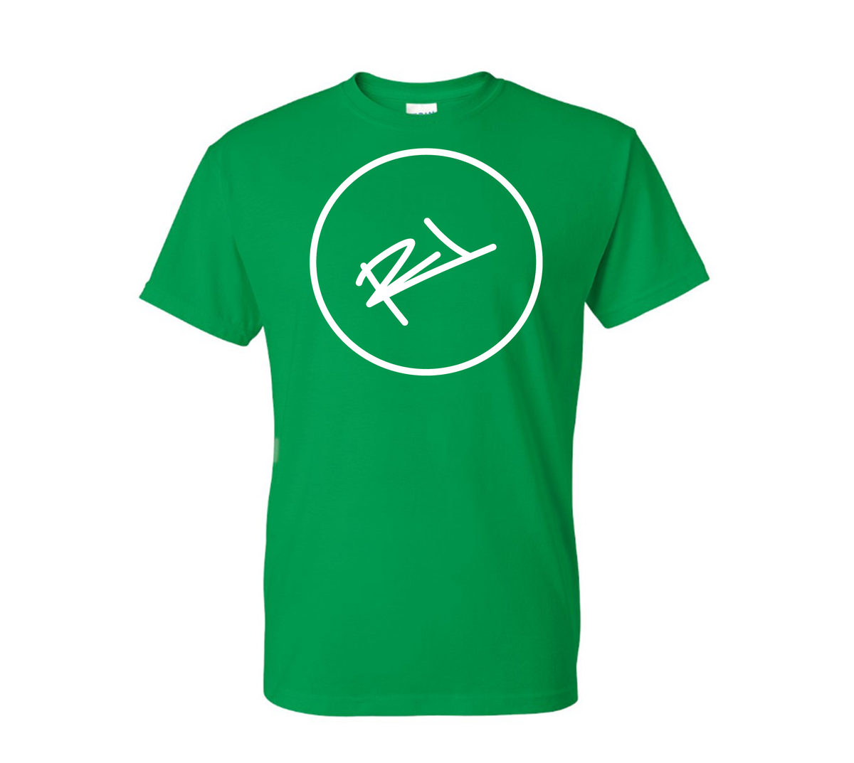 Image of THE ReL BRAND LOGO TEE IN GREEN