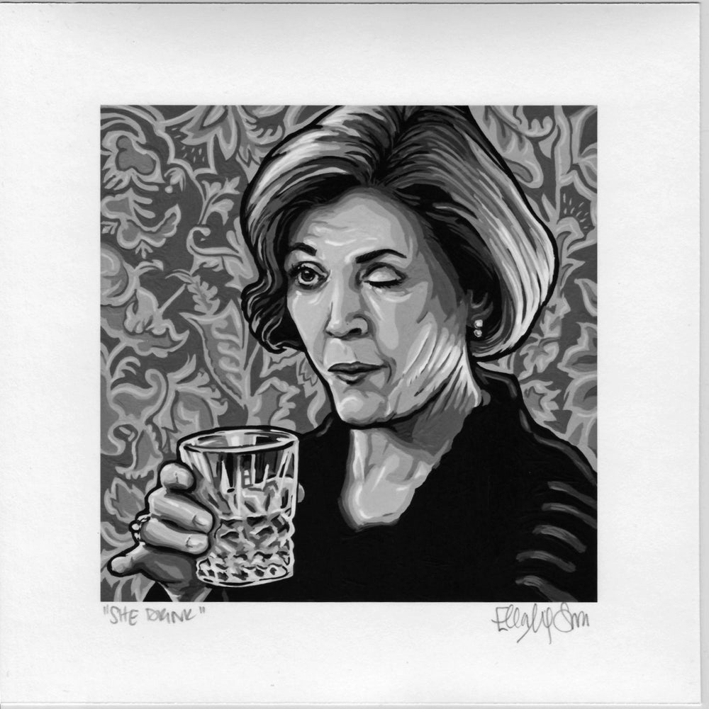 She Drink - Fine Art Print
