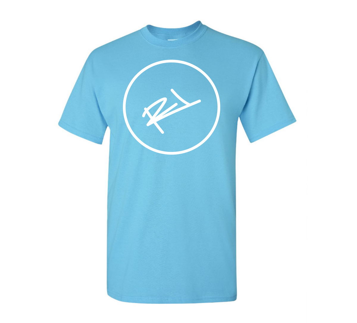 Image of THE ReL BRAND LOGO TEE IN TEAL