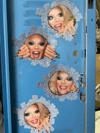 4-Pack Willam Gloryhole Peek-a-Boo Sticker