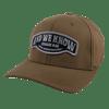 FlexFit Brown hat w/ Patch