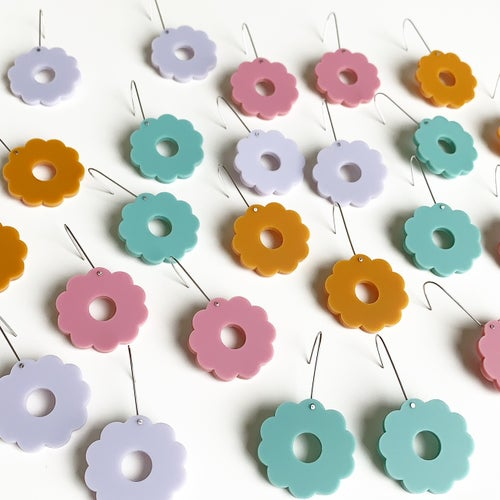 Image of Flower Drop Basic Dangles
