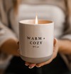 Fall Candle (Warm + Cozy)