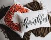 Thankful Lumbar Pillow ( Fall Decor)