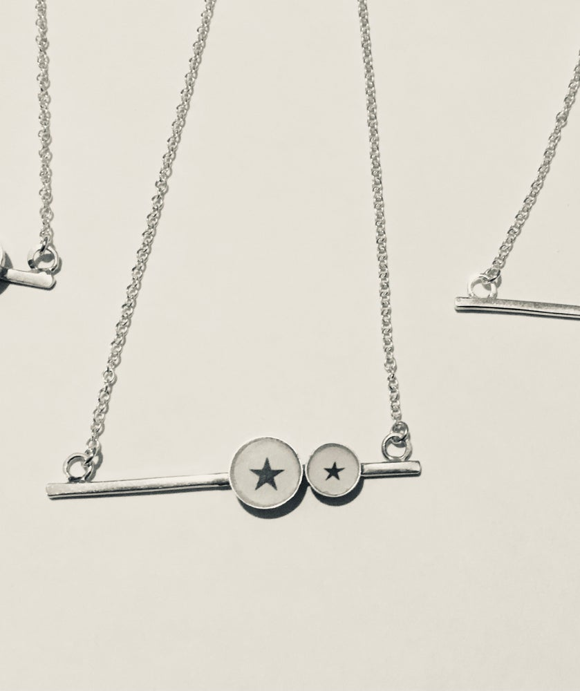 Image of Motif Bar Necklace
