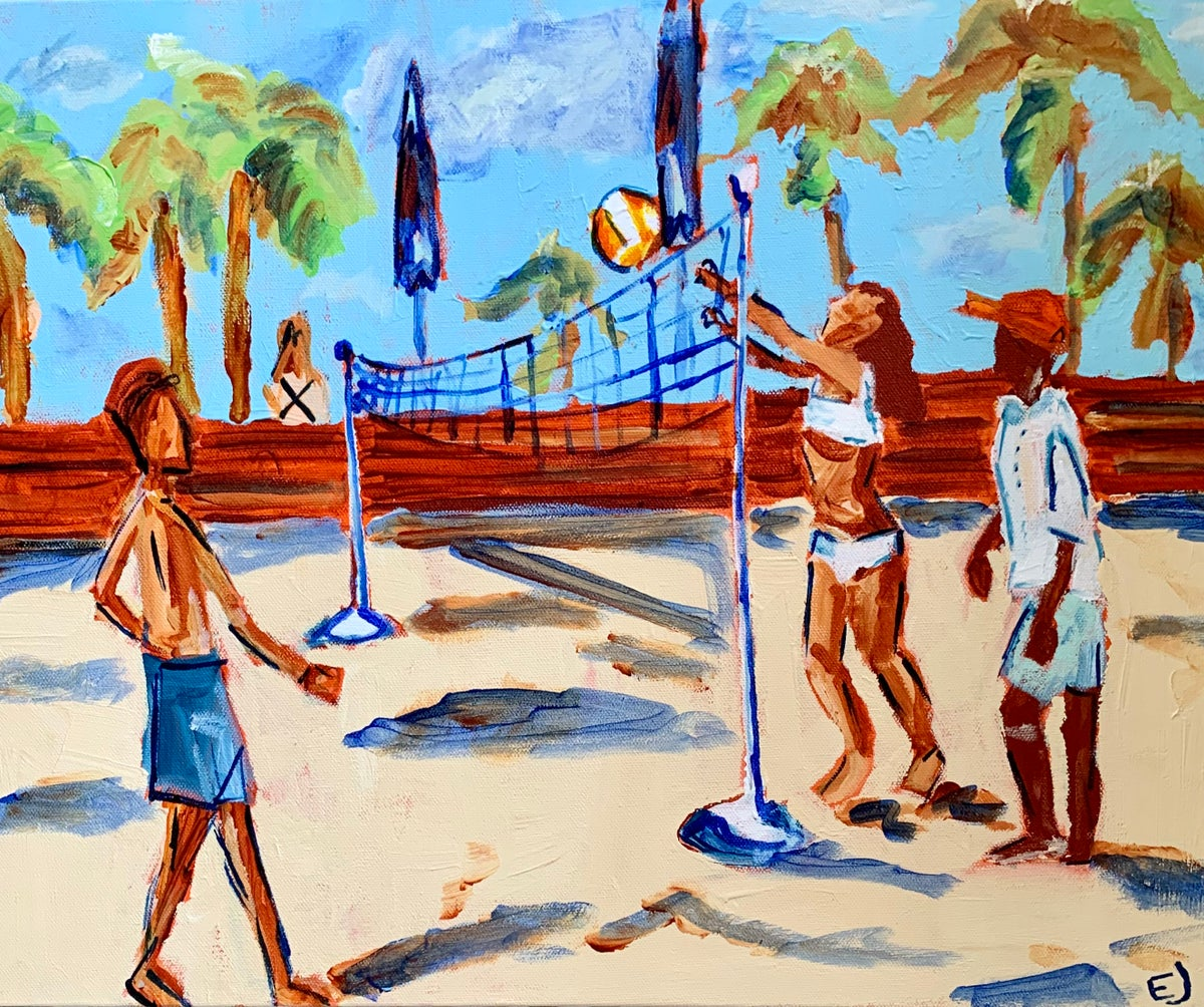 Image of Beach Volleyball
