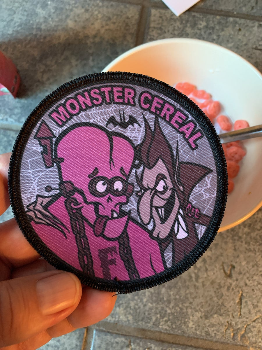 Image of Monster cereal pack