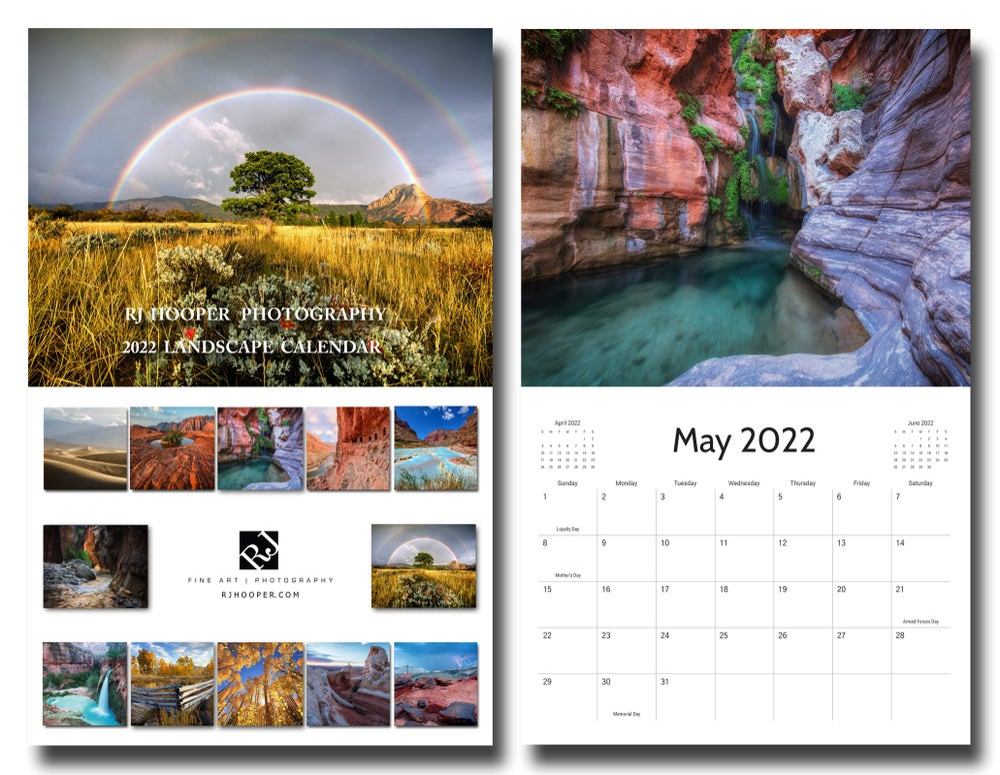 Image of 2022 Landscape Calendar (Pre-order)