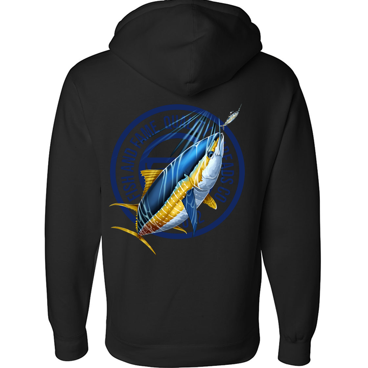 Image of Yellowfin Crest Pullover (black)