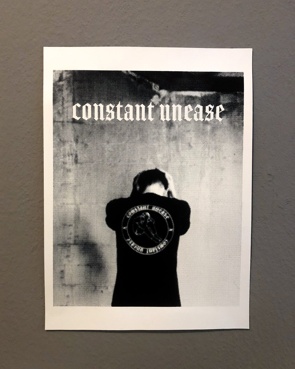 Constant Unease Wall Print A3