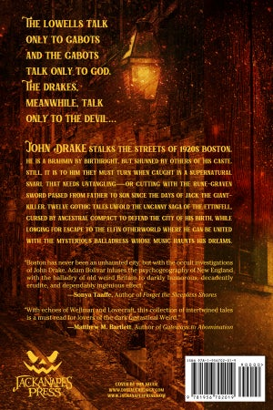 Image of The Ettinfell of Beacon Hill: Gothic Tales of Boston - PREORDER