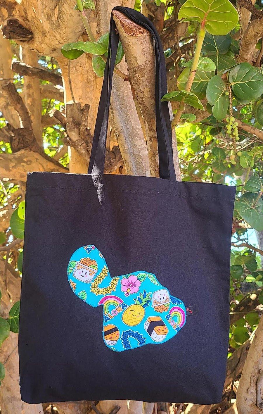 Image of Aloha Fun Maui Canvas Tote Bag