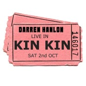 Image of DARREN HANLON -  KIN KIN - SATURDAY 2nd OCT - $28