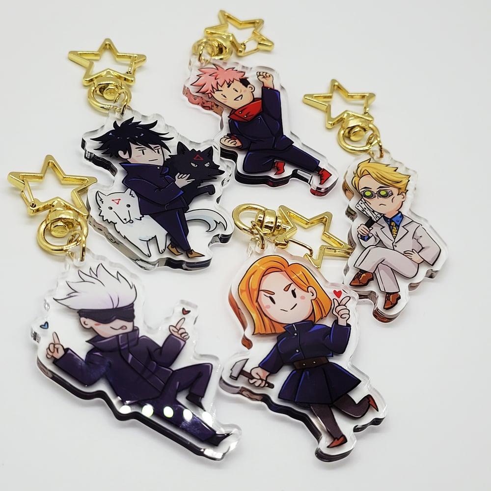 Image of Jujutsu Kaisen charms