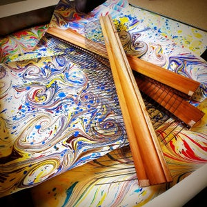 Image of DIY Backyard Traditional Marbling Online Class - 17th October (9.30- 12.30pm)
