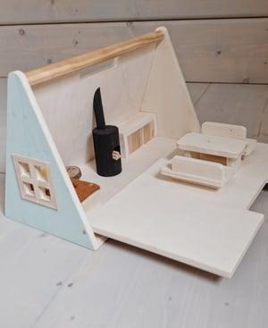 Image of A-frame dollcabin