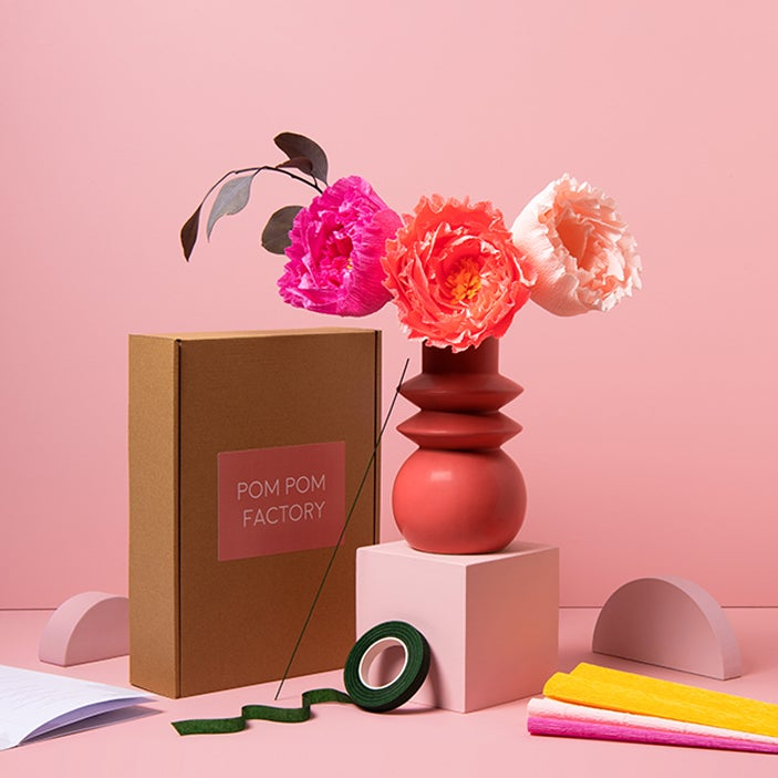 Image of Paper Peony Kit