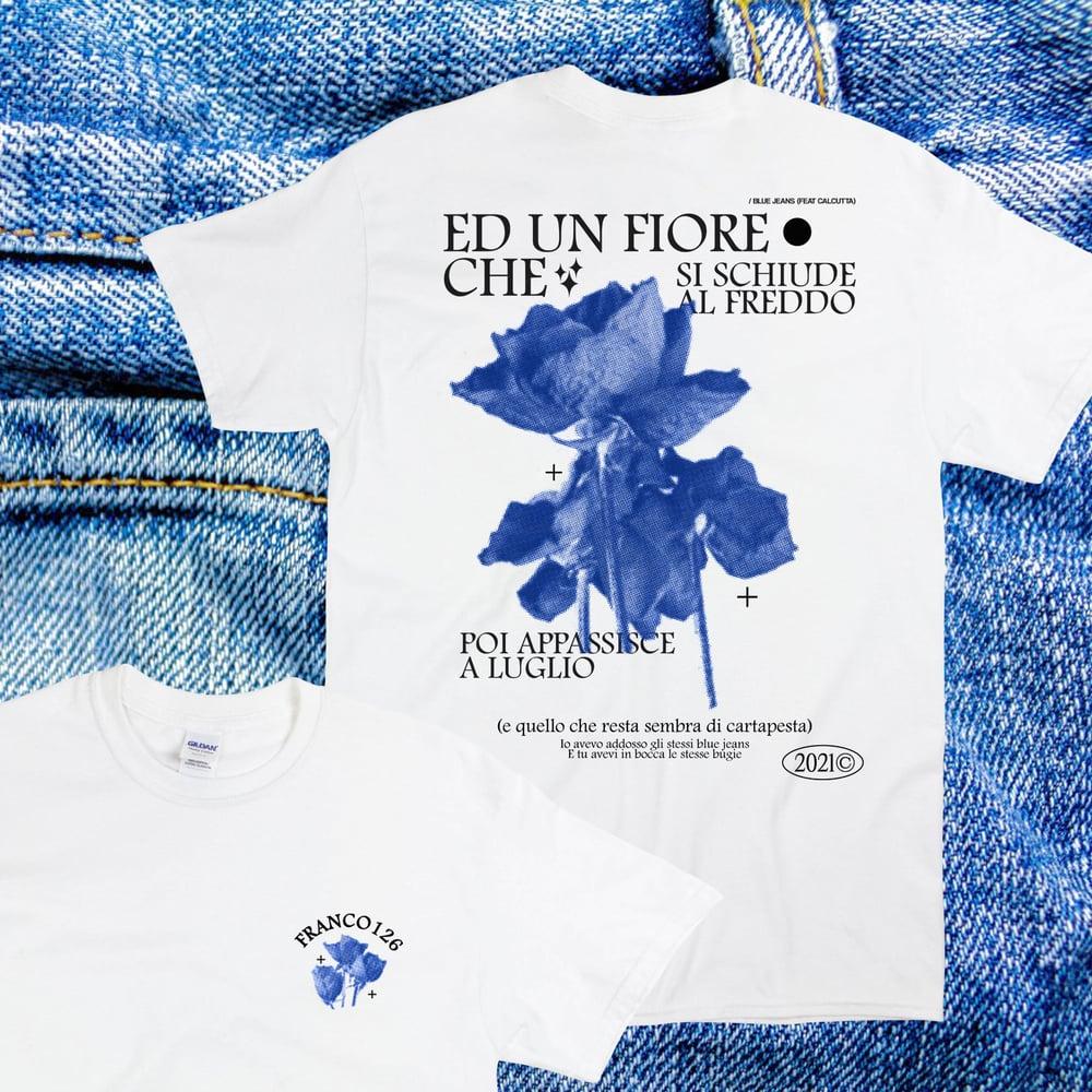 Image of Franco126: Blue Jeans T-shirt