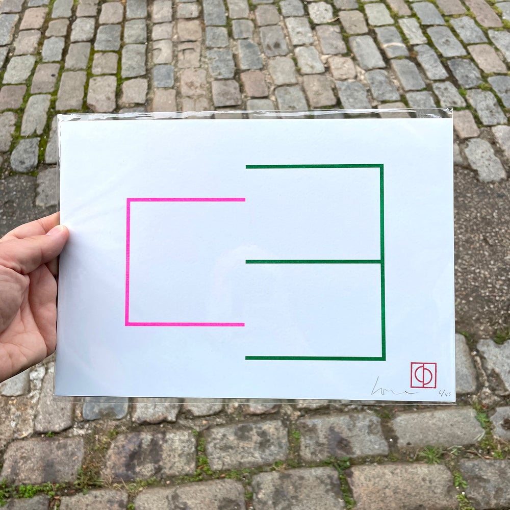 Image of 50/50 (3) – A4 Riso print