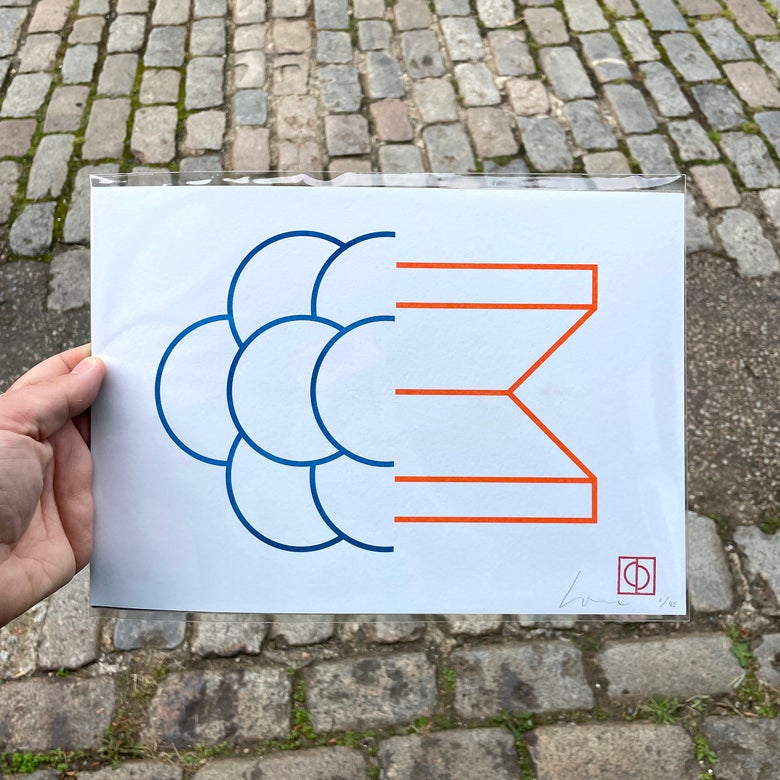 Image of 50/50 (4) – A4 Riso print