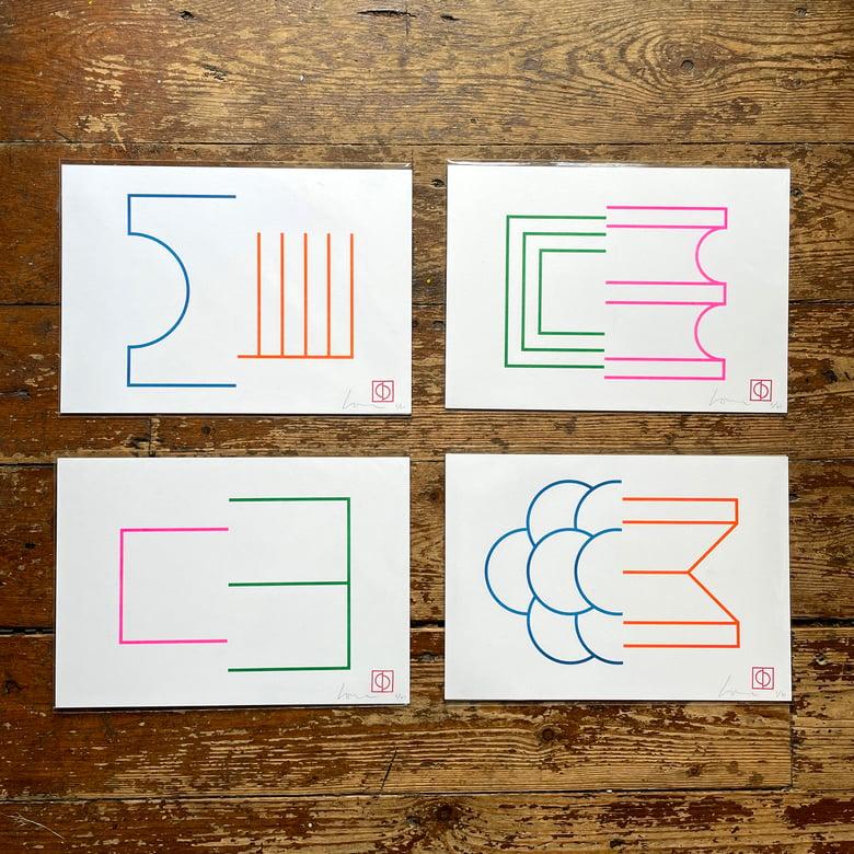 Image of 50/50 (set of 4 prints special offer)