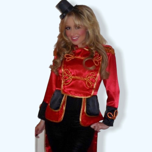 Image of Britney Spears Ringmaster Circus Cosplay Fancy Dress Costume
