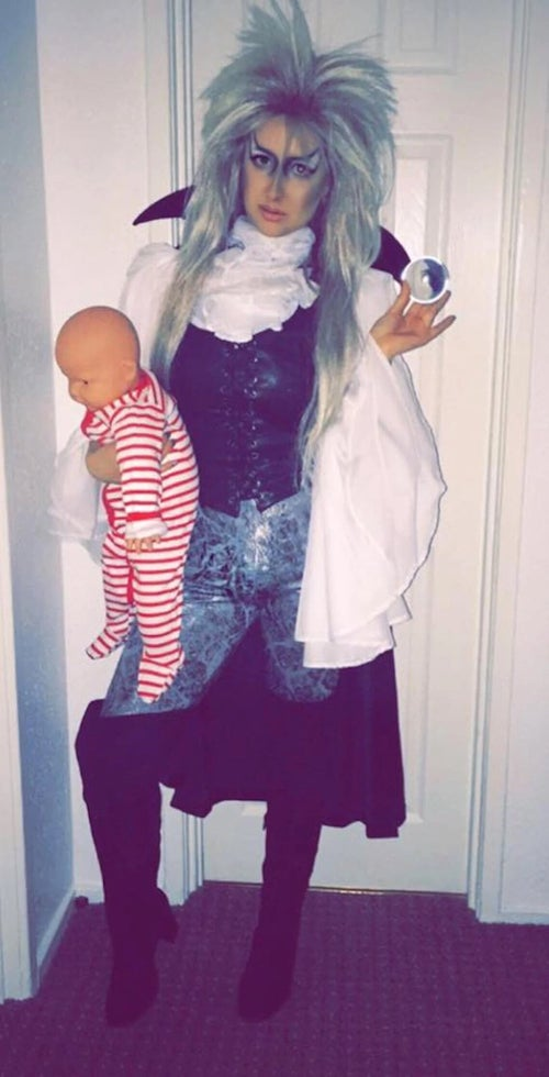 Image of Goblin King David Bowie Costume - Labyrinth