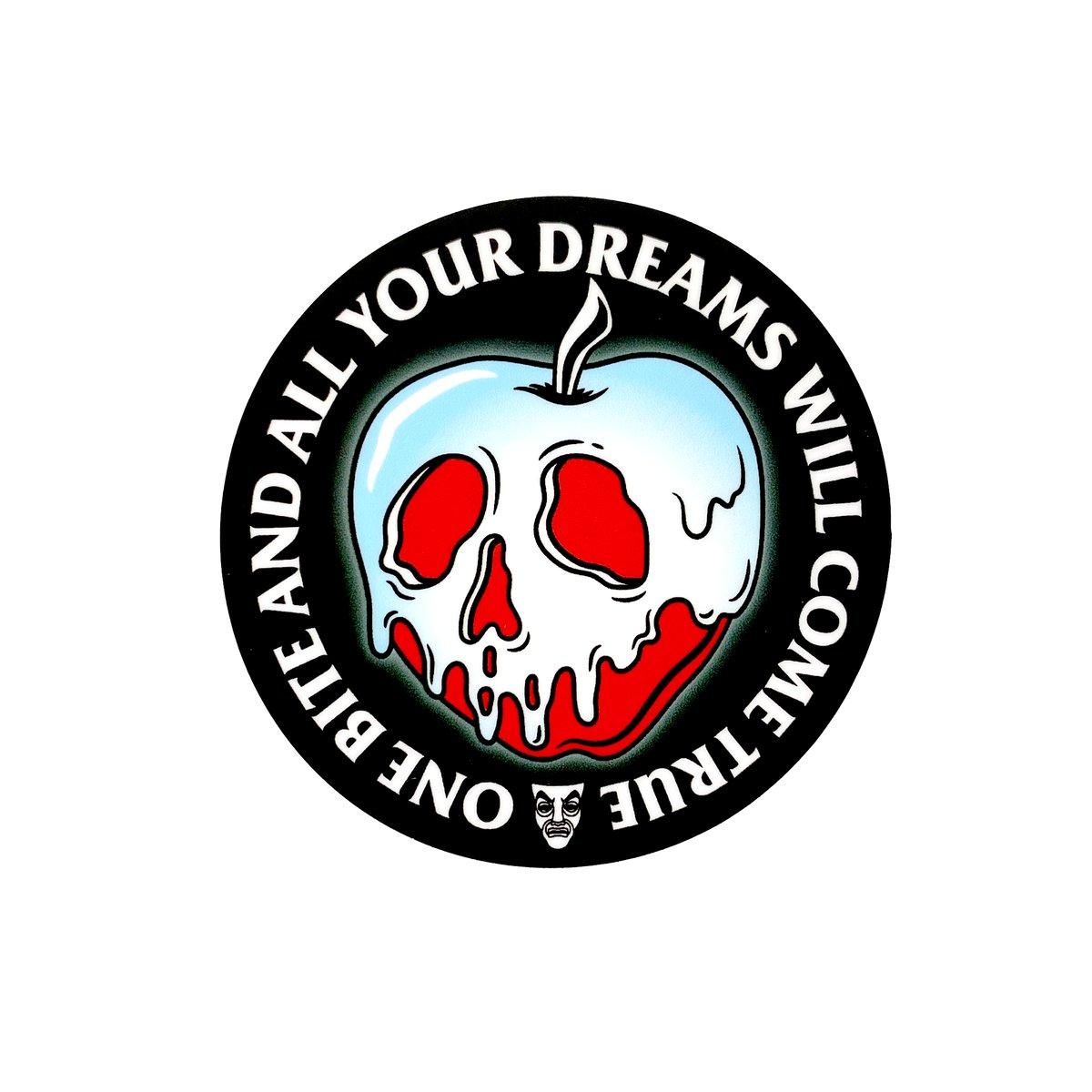 Image of Poison Apple Sticker