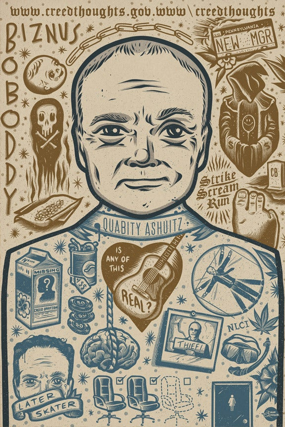 Image of Creed - Icon - Print