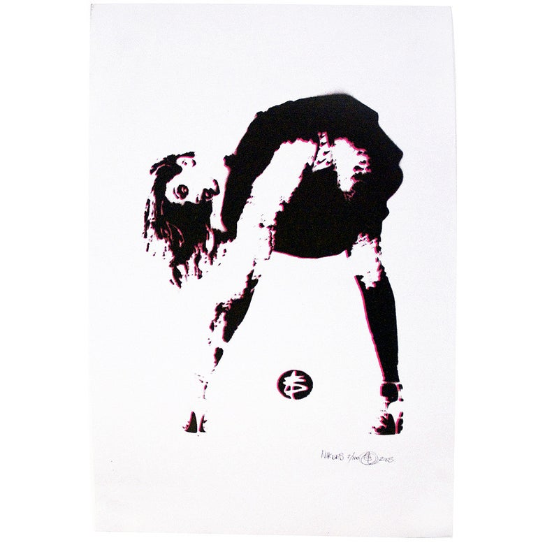 Image of Nick Walker - Nikers - Limited edition screenprint