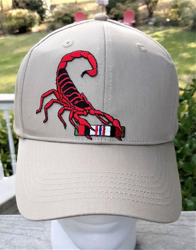 Image of Afghanistan Veteran Red Scorpion Hat
