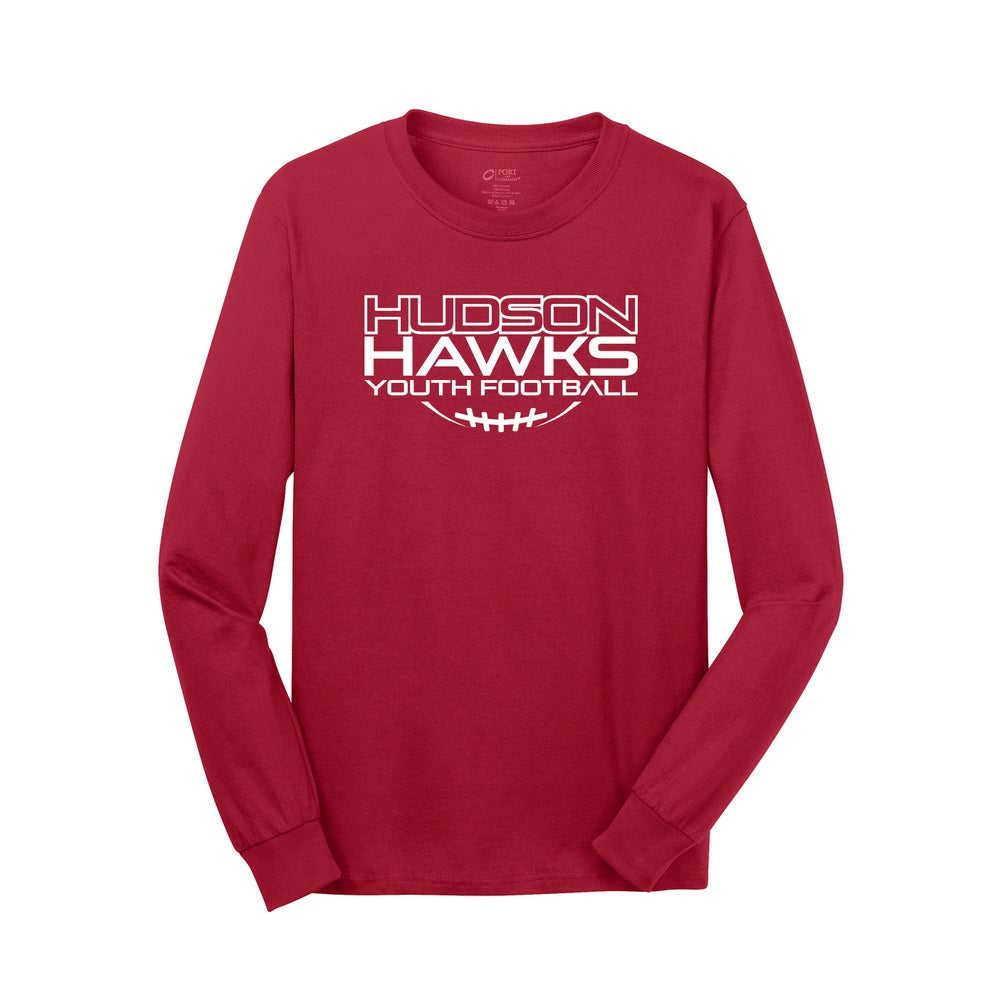 Image of HYFC RED LONG SLEEVE FOOTBALL