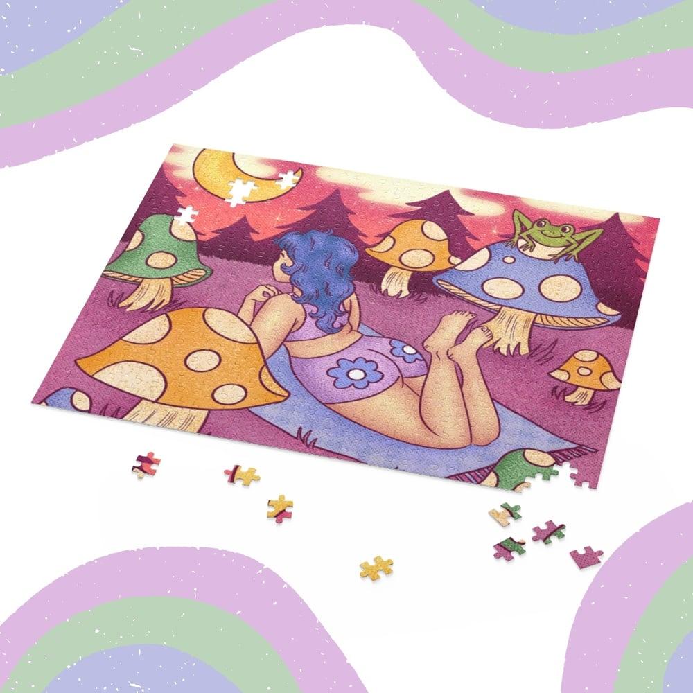 Image of MUSHROOM DREAMING JIGSAW PUZZLE