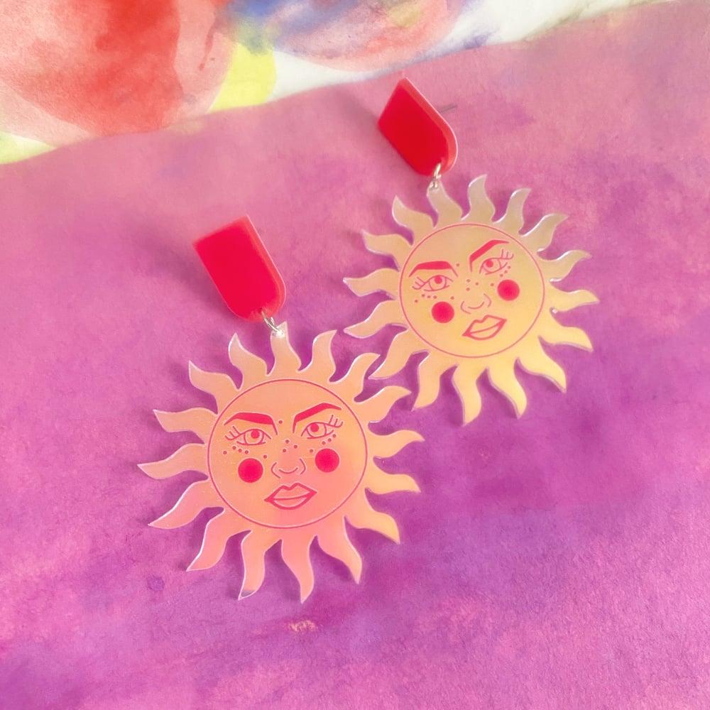 Image of RAY OF SUNSHINE EARRINGS