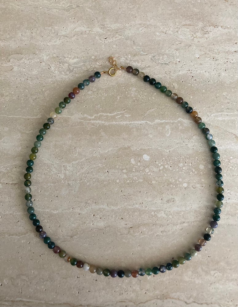 Image of GREEN TOURMALINE- Necklace