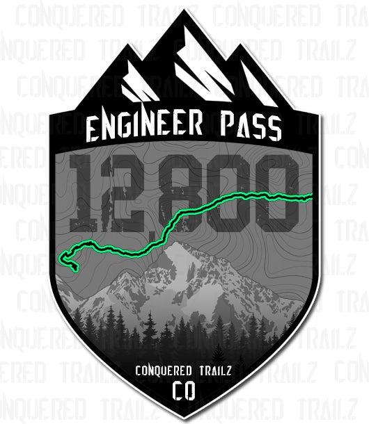 """Image of """"Engineer Pass"""" Trail Badge"""