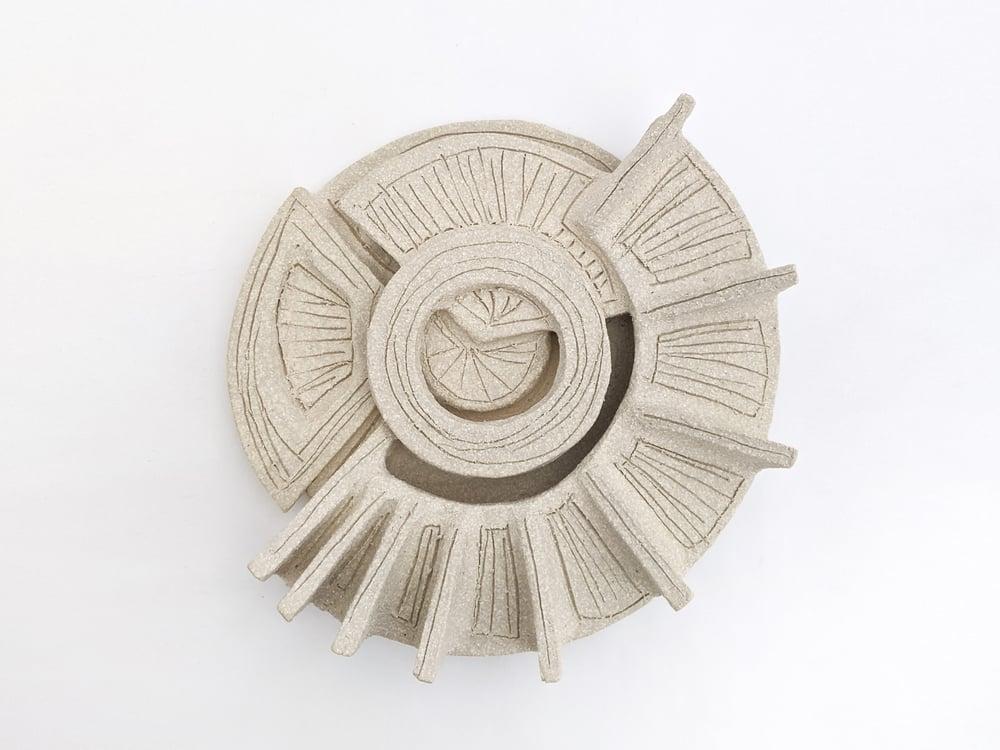 Image of ceramic wall sculpture I