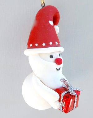 Image of New 2021 Santa Snowgnome-🎅🏻 Limited Edition🎅🏻