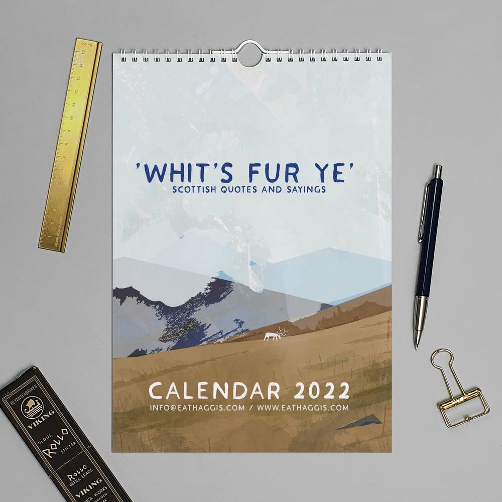 Image of Whits fur ye' 2022 <html> <br> </html> (Calendar)
