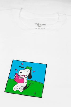 Image of Vague x Martyn Hill - T-shirt - White