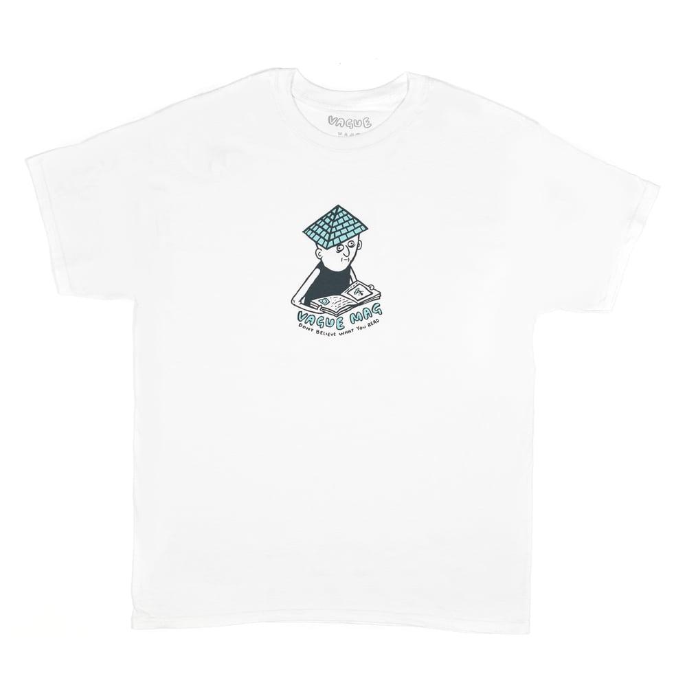 Image of Vague x Mike O'Shea - T-Shirt - White