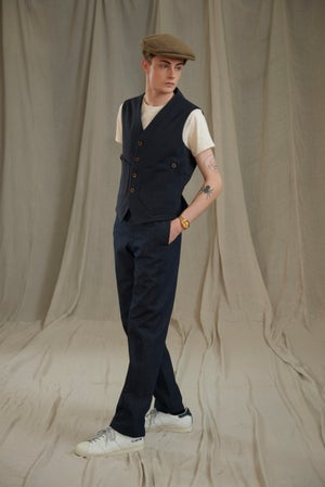 Image of EAST END GILET COTTON