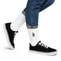 Walkie-Talkie   Red Embroidered Socks