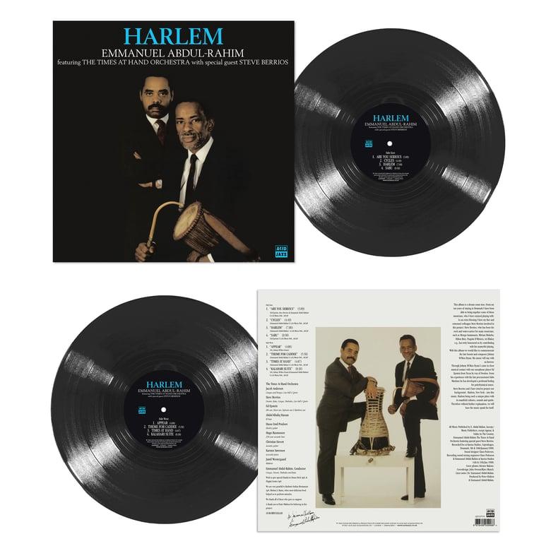 Image of Emmanuel Abdul-Rahim Ft The Times At Hand Orchestra - Harlem LP (Pre-Order)
