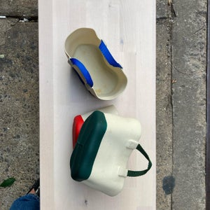 Image of Steere Rubber Tote Planters