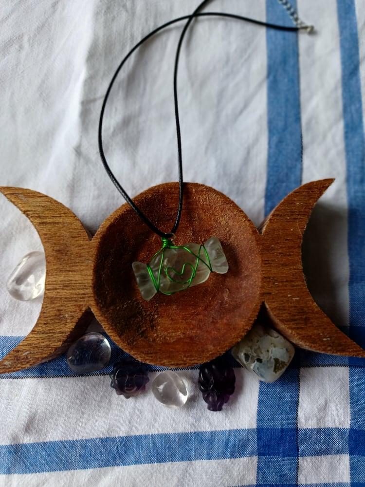 Image of Flourite Candy Pendant