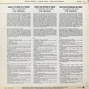 Moğollar - Danses Et Rythmes De La Turquie D'Hier À Aujourd'hui ( Concert Hall - 1971)